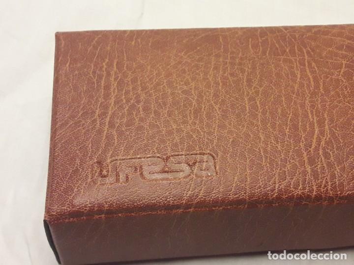Antigüedades: Bella plancha de viaje Ufesa años 70 con certificado y funda - Foto 4 - 214641428