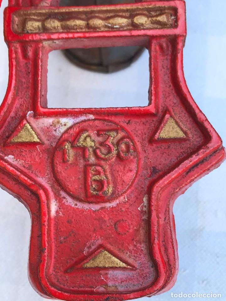 Antigüedades: ANTIGUO MOLINILLO PICADORA ELMA MOD. 1430 A - Foto 8 - 214654463