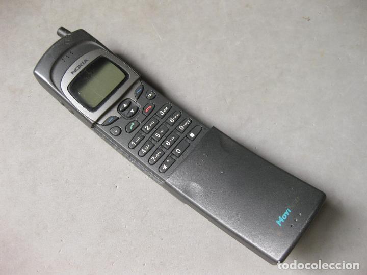 TELEFONO NOKIA 8110 NHE-6BM MOVISTAR (Antigüedades - Técnicas - Teléfonos Antiguos)