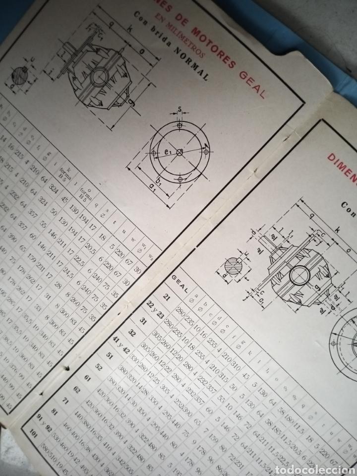 Antigüedades: MOTORES TRIFÁSICOS TIPO GEAL - AEG - IBÉRICA DE ELECTRICIDAD - Foto 5 - 214865170