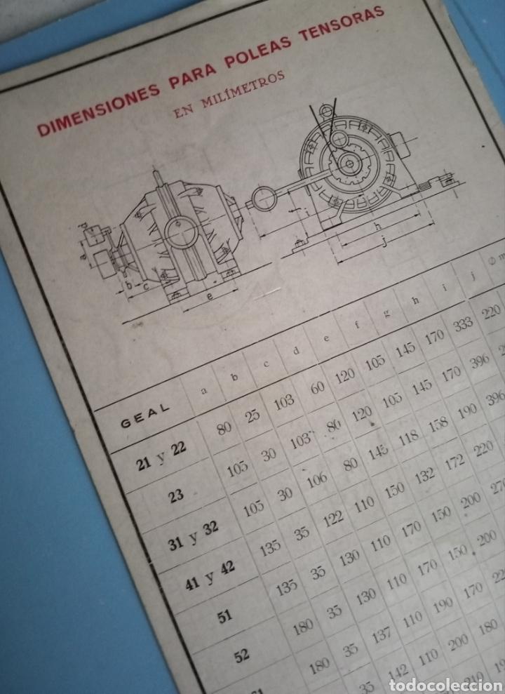 Antigüedades: MOTORES TRIFÁSICOS TIPO GEAL - AEG - IBÉRICA DE ELECTRICIDAD - Foto 6 - 214865170