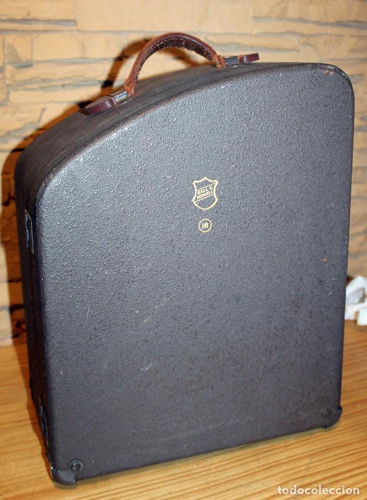 Antigüedades: ANTIGUO PROYECTOR BELL & HOWELL DIPLOMAT - 16mm - EN SU CAJA ORIGINAL - MUY BUEN ESTADO - Foto 5 - 214882676