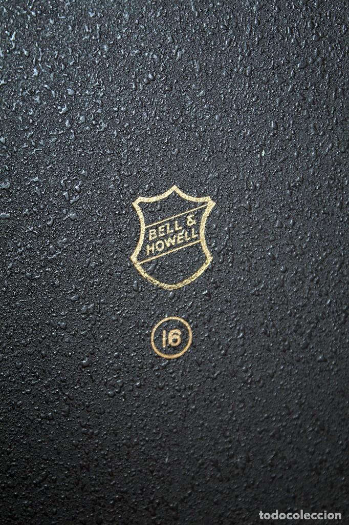 Antigüedades: ANTIGUO PROYECTOR BELL & HOWELL DIPLOMAT - 16mm - EN SU CAJA ORIGINAL - MUY BUEN ESTADO - Foto 6 - 214882676