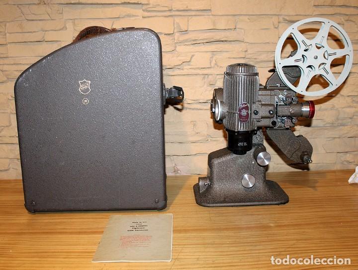 Antigüedades: ANTIGUO PROYECTOR BELL & HOWELL DIPLOMAT - 16mm - EN SU CAJA ORIGINAL - MUY BUEN ESTADO - Foto 11 - 214882676