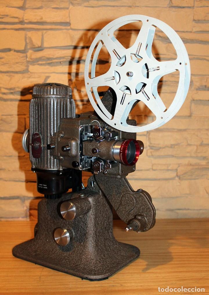 Antigüedades: ANTIGUO PROYECTOR BELL & HOWELL DIPLOMAT - 16mm - EN SU CAJA ORIGINAL - MUY BUEN ESTADO - Foto 12 - 214882676