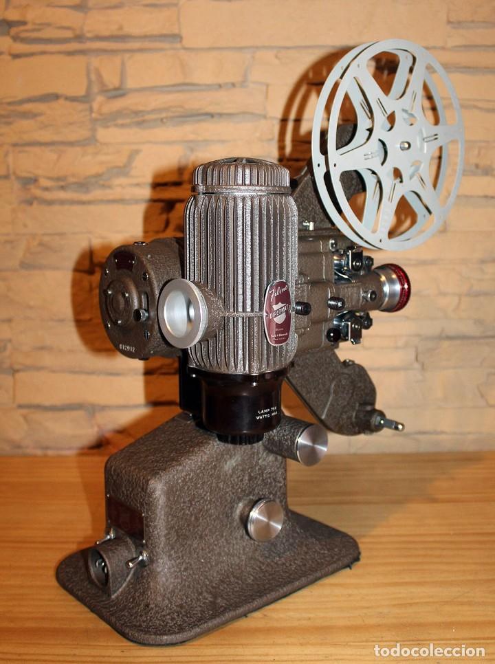Antigüedades: ANTIGUO PROYECTOR BELL & HOWELL DIPLOMAT - 16mm - EN SU CAJA ORIGINAL - MUY BUEN ESTADO - Foto 18 - 214882676