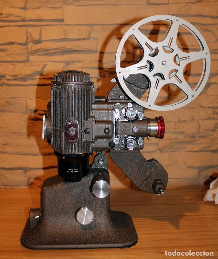 Antigüedades: ANTIGUO PROYECTOR BELL & HOWELL DIPLOMAT - 16mm - EN SU CAJA ORIGINAL - MUY BUEN ESTADO - Foto 19 - 214882676