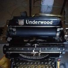 Antigüedades: UNDERWOOD. MAQUINA DE ESCRIBIR UNDERWOOD, USA. FUNCIONANDO PERFECTAMENTE. Lote 214907331