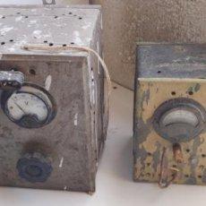 Antigüedades: LOTE DE DOS TRANSFORMADOR, ELEVADOR, REDUCTOR. Lote 214910360