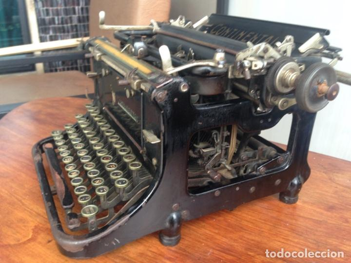 MÁQUINA DE ESCRIBIR CONTINENTAL (Antigüedades - Técnicas - Máquinas de Escribir Antiguas - Continental)