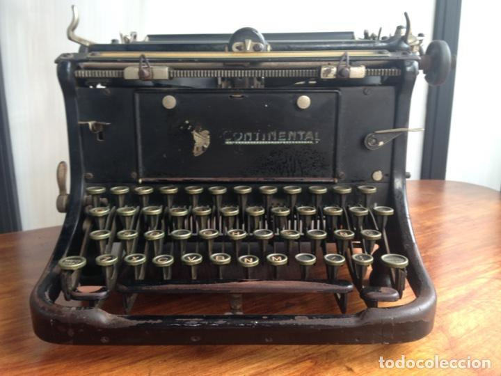 Antigüedades: Máquina de escribir Continental - Foto 2 - 214932796