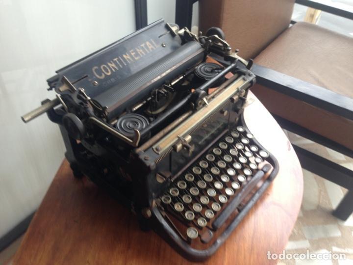 Antigüedades: Máquina de escribir Continental - Foto 3 - 214932796