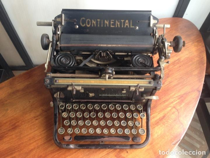 Antigüedades: Máquina de escribir Continental - Foto 4 - 214932796