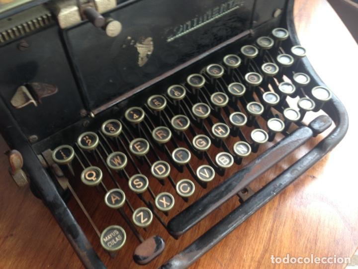 Antigüedades: Máquina de escribir Continental - Foto 5 - 214932796