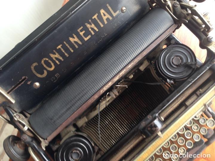 Antigüedades: Máquina de escribir Continental - Foto 6 - 214932796