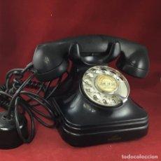 Teléfonos: ANTIGUO TELÉFONO BAQUELITA 5523EZ, DE STANDARD ELÉCTRICA, PARA LA CTNE. Lote 214985483