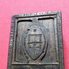 Antigüedades: ANTIGUO TAMPON SELLO TIPOGRAFICO IMPRENTA. Lote 214988478