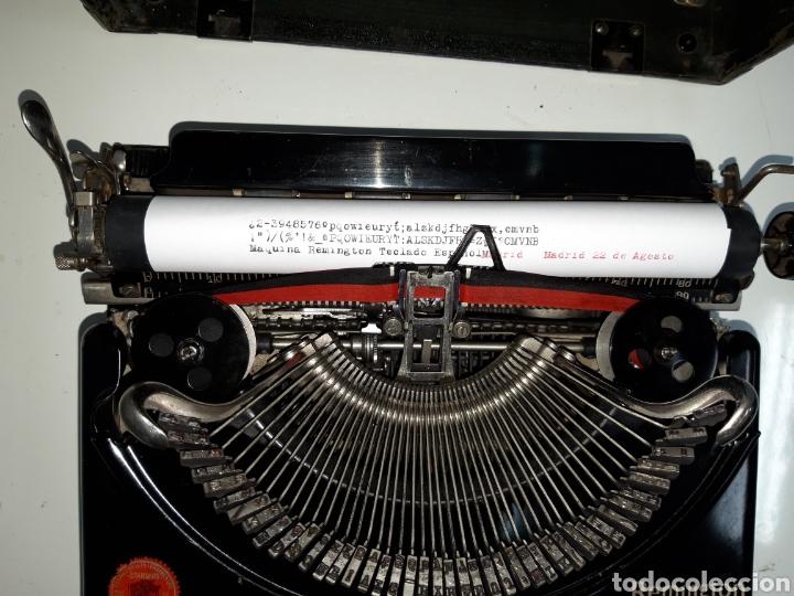 Antigüedades: Maquina de escribir, Typewriter, Schreibmaschinen, machine á écrire REMINGTON - Foto 2 - 215065575