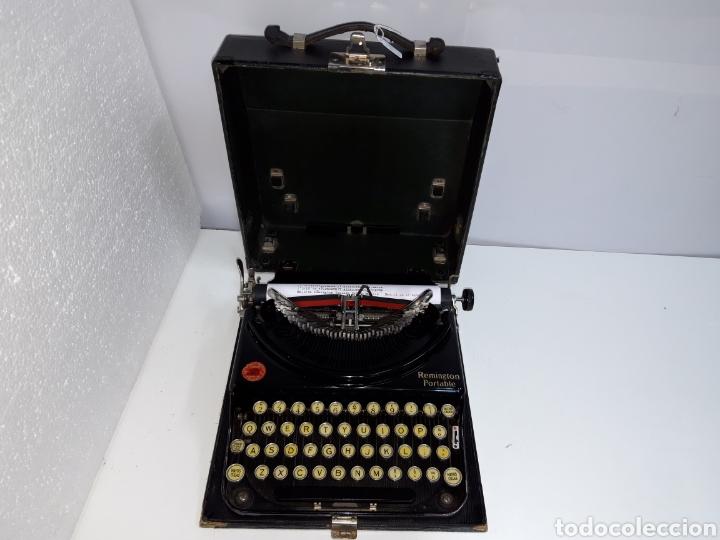 Antigüedades: Maquina de escribir, Typewriter, Schreibmaschinen, machine á écrire REMINGTON - Foto 3 - 215065575