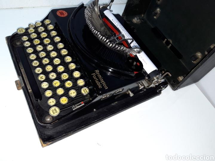 Antigüedades: Maquina de escribir, Typewriter, Schreibmaschinen, machine á écrire REMINGTON - Foto 4 - 215065575