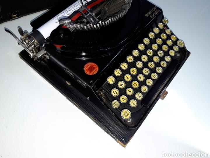 Antigüedades: Maquina de escribir, Typewriter, Schreibmaschinen, machine á écrire REMINGTON - Foto 5 - 215065575