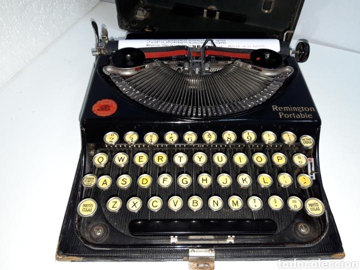 Antigüedades: Maquina de escribir, Typewriter, Schreibmaschinen, machine á écrire REMINGTON - Foto 6 - 215065575