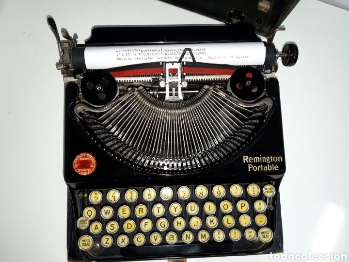 Antigüedades: Maquina de escribir, Typewriter, Schreibmaschinen, machine á écrire REMINGTON - Foto 7 - 215065575