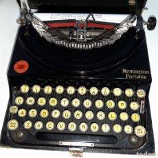 Antigüedades: MAQUINA DE ESCRIBIR, TYPEWRITER, SCHREIBMASCHINEN, MACHINE Á ÉCRIRE REMINGTON. Lote 215065575