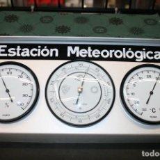 Antigüedades: ESTACIÓN METEOROLÓGICA ANALÓGICA EXTERIOR NUEVA. Lote 215269470