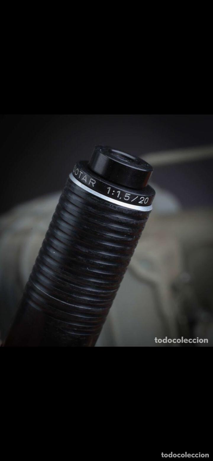 Antigüedades: Proyector Nizo Familia 8mm incluye caja y bombilla de repuesto - Foto 13 - 215303211