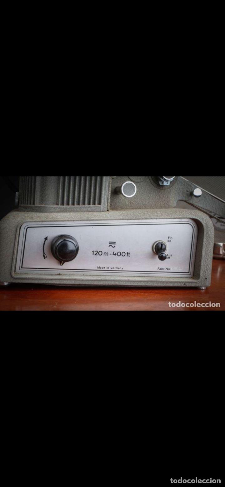 Antigüedades: Proyector Nizo Familia 8mm incluye caja y bombilla de repuesto - Foto 20 - 215303211