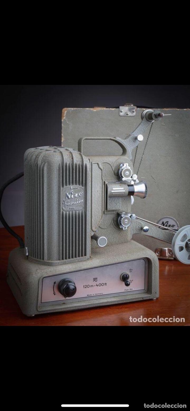 Antigüedades: Proyector Nizo Familia 8mm incluye caja y bombilla de repuesto - Foto 21 - 215303211
