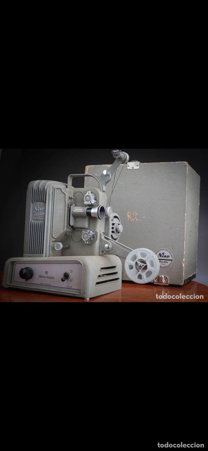Antigüedades: Proyector Nizo Familia 8mm incluye caja y bombilla de repuesto - Foto 24 - 215303211