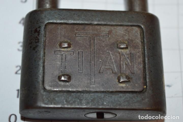 Antigüedades: Vintage - Lote de 3 antiguos CANDADOS METÁLICOS variados - ¡Mira fotos y detalles! - Foto 12 - 215329236