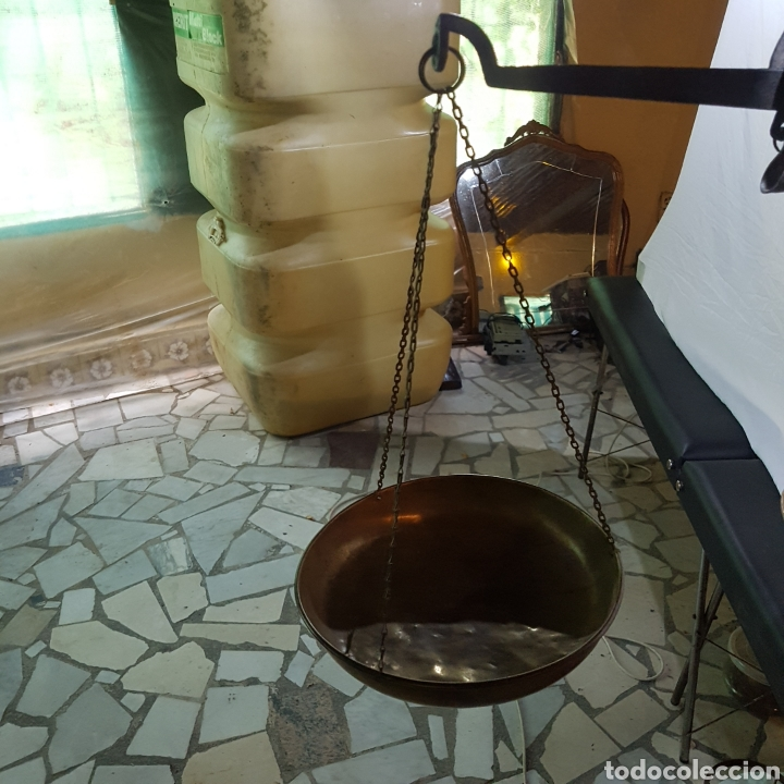 Antigüedades: ANTIGUA BASCULA - Foto 8 - 215421770