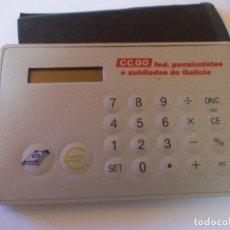 Antigüedades: CALCULADORA CONVERSOR €/PTAS CON FUNDA PROTECTORA. Lote 215471197