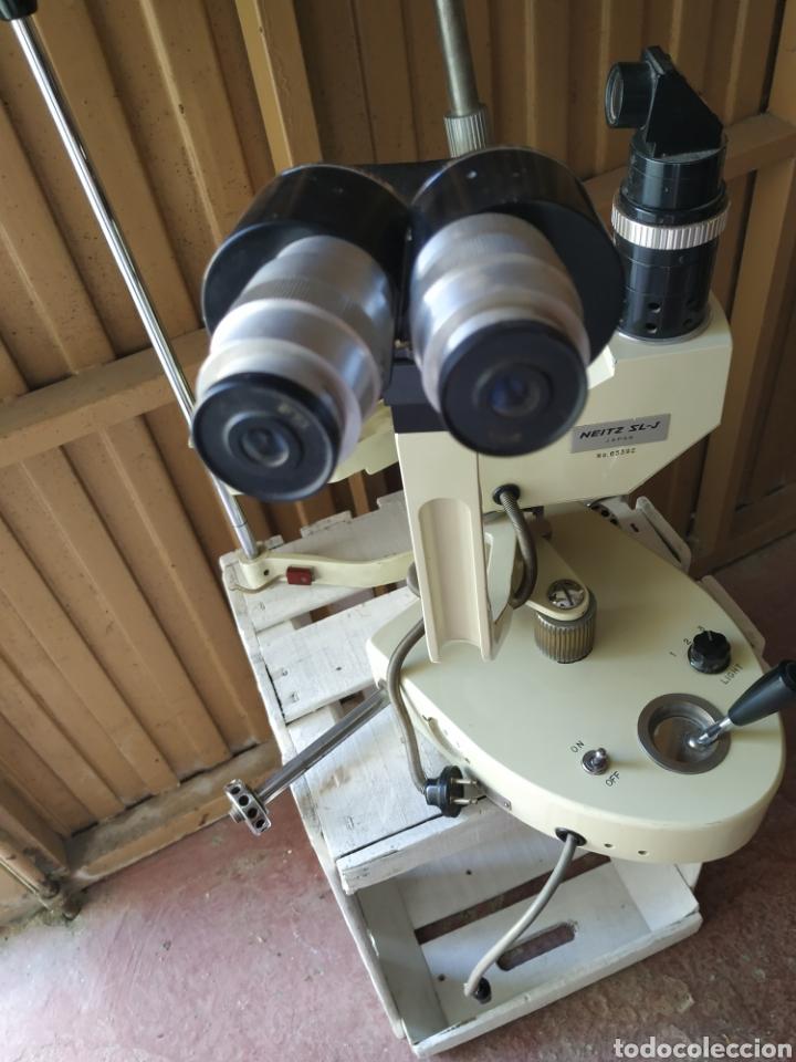 Antigüedades: Antiguo aparato de óptica - Foto 2 - 215523132