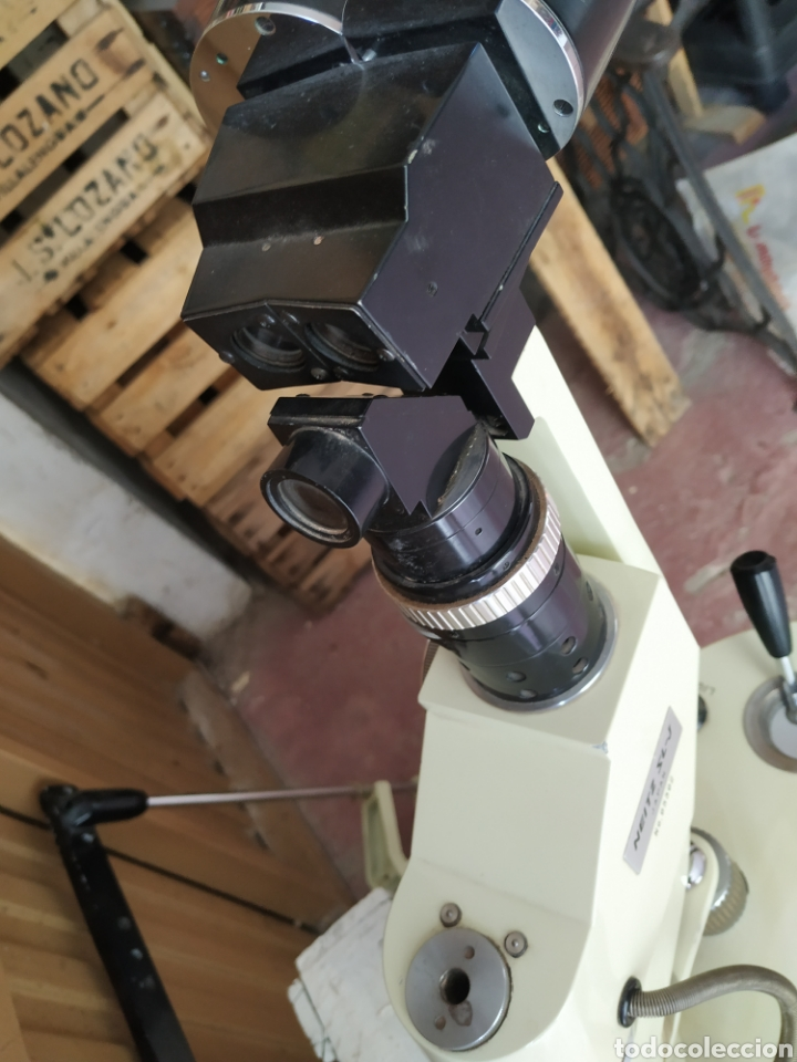 Antigüedades: Antiguo aparato de óptica - Foto 8 - 215523132