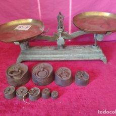 Antigüedades: BALANZA FORCE COMPLETA, XXX-804. Lote 43779518