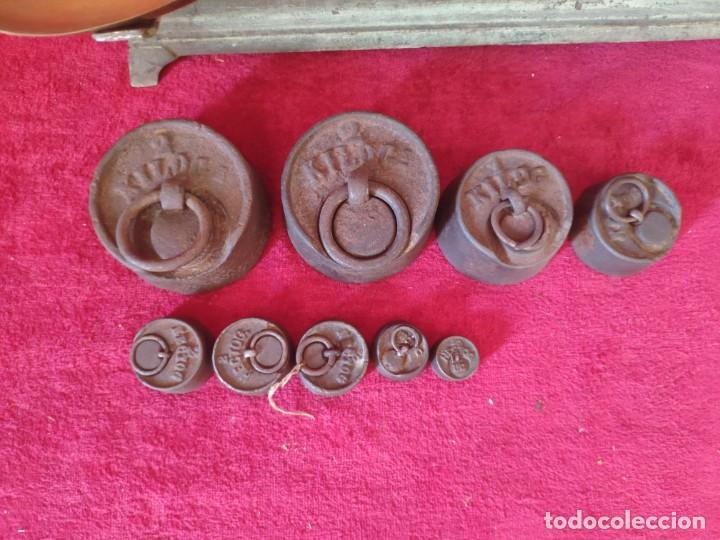 Antigüedades: BALANZA FORCE COMPLETA, XXX-804 - Foto 3 - 43779518