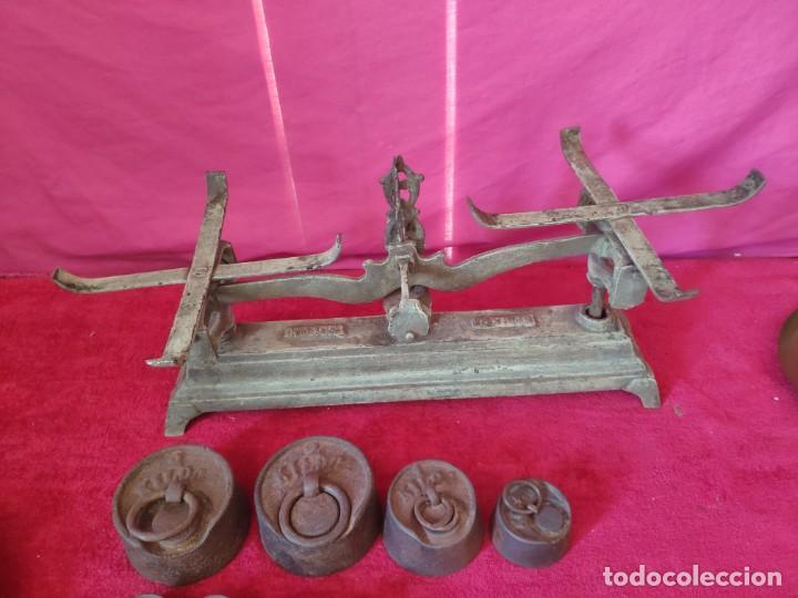 Antigüedades: BALANZA FORCE COMPLETA, XXX-804 - Foto 4 - 43779518