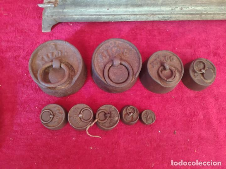 Antigüedades: BALANZA FORCE COMPLETA, XXX-804 - Foto 7 - 43779518