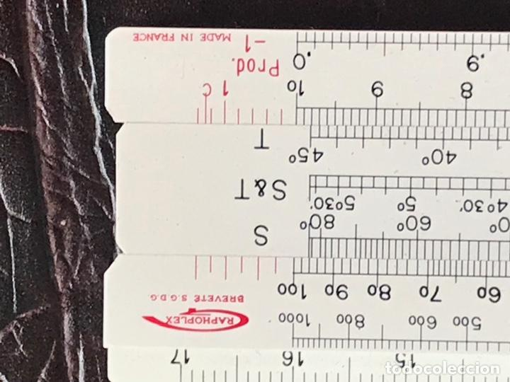 Antigüedades: regla de calculo , made in france , graphoplex brevete , 615 - Foto 4 - 215565097