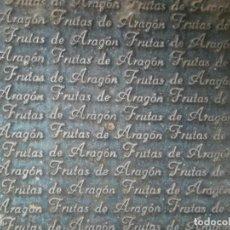 Antigüedades: ¡¡ IMPRESIONANTE `PRECIOSO MOLDE DE IMPRENTA ¡¡AÑOS 1920 -1930 FRUTAS DE ARAGON. Lote 215673293