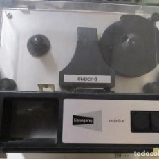 Antigüedades: VISOR DE PELICULAS SUPER 8 LIESEGANG MOBILE-E SUPER 8 IMAGE. Lote 215677693