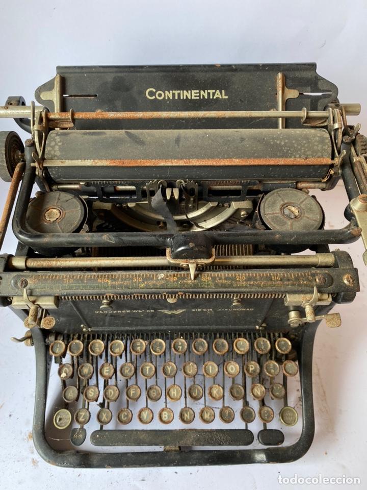 CONTINENTAL MÁQUINA DE ESCRIBIR (Antigüedades - Técnicas - Máquinas de Escribir Antiguas - Continental)