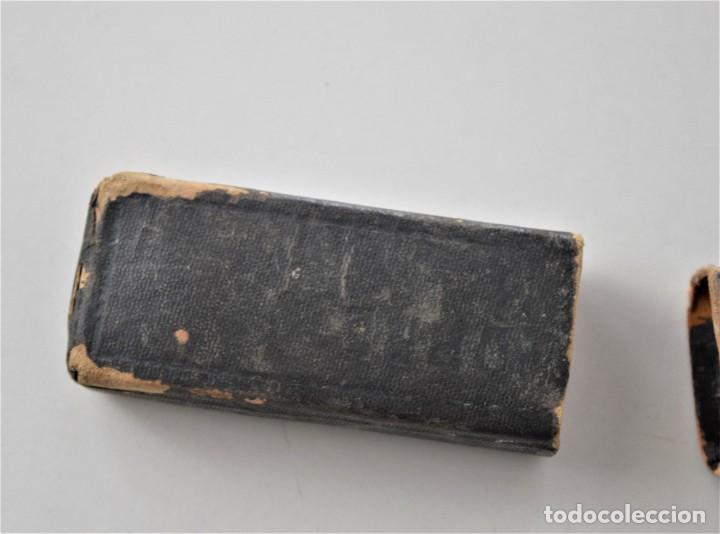 Antigüedades: NAVAJA DE AFEITAR 14 JOSÉ PRIETO, VALENCIA - GUILLERMO HOPPE SOLINGEN CON FUNDA Y BUEN ESTADO - Foto 9 - 215729903