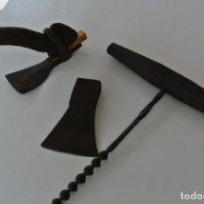 Antigüedades: LOTE DE TRES HERRAMIENTA PARA REALIZAR TRABAJOS EN BARCOS. Lote 215828388