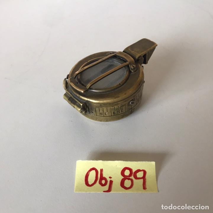 Antigüedades: BRÚJULA O COMPÁS DE LA SEGUNDA GUERRA MUNDIAL - Foto 2 - 215833150