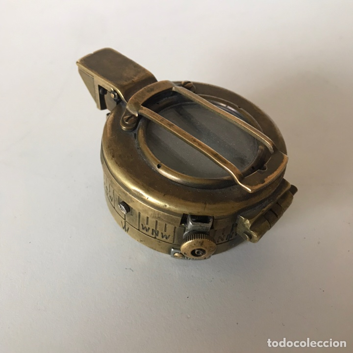 BRÚJULA O COMPÁS DE LA SEGUNDA GUERRA MUNDIAL (Antigüedades - Técnicas - Otros Instrumentos Ópticos Antiguos)